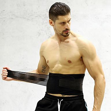 Zaštitnu opremu Pojas za sužavanje struka / Pojas s efektom saune Najlon Nehrđajući čelik Izdržljivost Prozračnost Sposobnost Dizanje utega Vježbati Za Muškarci Žene Struk Struka i natrag