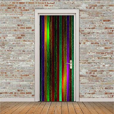 Vrata za vrata - 3D zidne naljepnice Životinje / 3D Unutrašnji / Outdoor