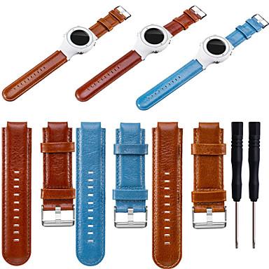 Недорогие Аксессуары для смарт-часов-Ремешок для часов для Approach S4 / Approach S2 / Vivoactive Garmin Спортивный ремешок Натуральная кожа Повязка на запястье