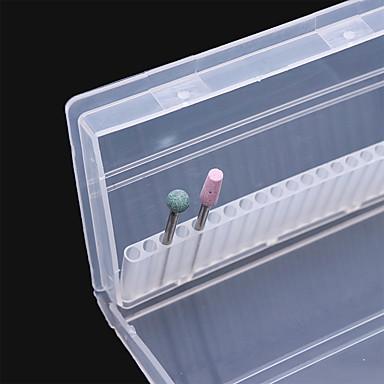 1pc Eko-friendly materijal Bočica za nokte Za Multi Function Bijela serija nail art Manikura Pedikura Stilski / Azijski Dnevno / Festival