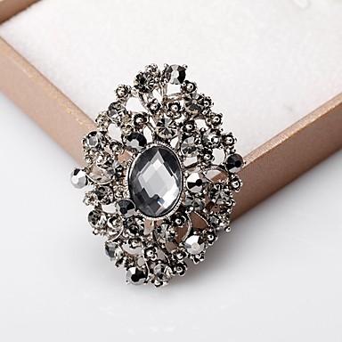povoljno Broševi-Žene Broševi Klasičan slatko Moda Elegantno Broš Jewelry Silver / Gray Za Vjenčanje Party