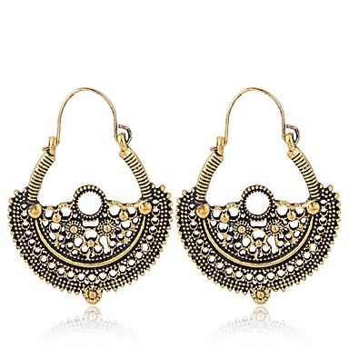 Žene Viseće naušnice dame Jednostavan Vintage Europska Naušnice Jewelry Pink / Zlatan Za Kauzalni Ulica 1 par