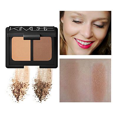 Jednobojno Suha Slimming Bronzer # Mat Jednostavan za nošenje Večer stranka / Formalan / Spoj Šminka Kozmetički