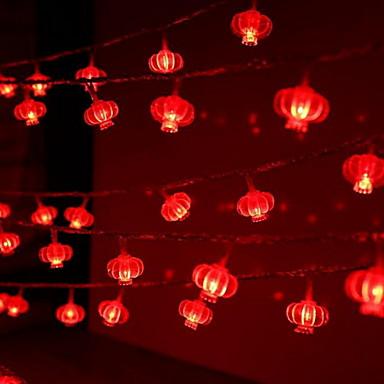 10m Žice sa svjetlima 100 LED diode Crveno Ukrasno 220-240 V 1set
