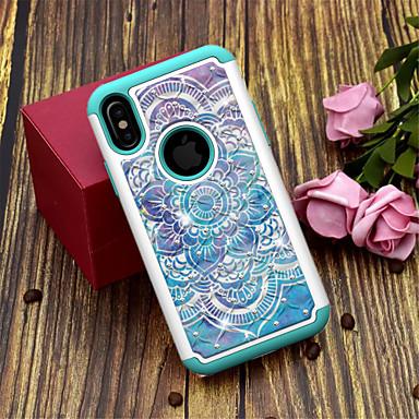 Θήκη Za Apple iPhone XS / iPhone XR / iPhone XS Max Translucent / Uzorak Stražnja maska Mandala / Cvijet Tvrdo TPU / PC