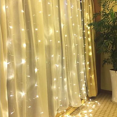 4m Žice sa svjetlima 96 LED diode Toplo bijelo Ukrasno 220-240 V 1set