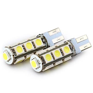 SENCART 4kom T10 / BA9S Motor / Automobil Žarulje 2.5 W SMD 5050 160 lm 13 LED Žmigavac svjetlo / Stražnje svjetlo / Svjetla u unutrašnjosti Za
