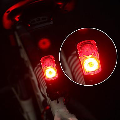 LED Svjetla za bicikle Stražnje svjetlo za bicikl sigurnosna svjetla Brdski biciklizam Bicikl Biciklizam Vodootporno Prijenosno Prilagodljiv Punjiva Lithium-ion baterija USB 150 lm Boja izvora