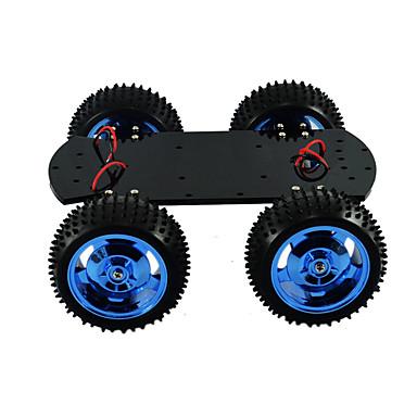 4wd puni metalni motor pametan automobil podvozje veliki momentalni robot arduino