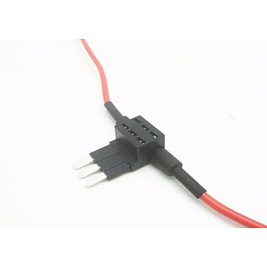 držač osigurača za auto-uložak / osigurač za autopilot uzeti električni aparat / 3-palac srednje osigurač dvostruka žica (bez osigurača umetka)
