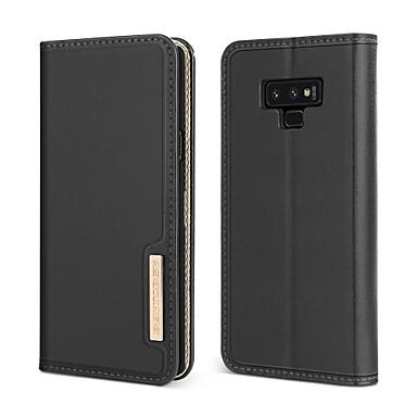Θήκη Za Samsung Galaxy Note 9 Otporno na trešnju / sa stalkom / Zaokret Korice Jednobojni Tvrdo prava koža / PC