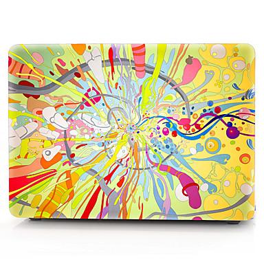 MacBook slučaj za zrak pro retina 11 12 13 15 ulje na platnu crtani pvc laptop poklopac slučaj za MacBook novi pro 13,3 15 inčni sa touch bar