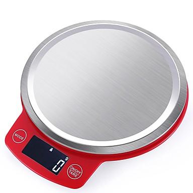 1 pcs Tikovina ABS plastika Electronic Scale Mjerica 0.5g/3kg