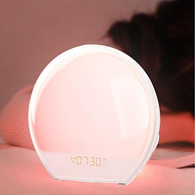 brelski višenamjenski elektronski alarmni sat vođen šarenim buđenje noćnim svjetlom europski propisi 1 kom