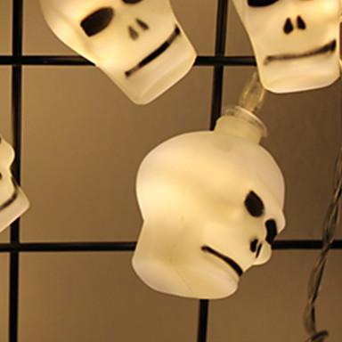 2.5m Žice sa svjetlima 20 LED diode SMD5050 Toplo bijelo Ukrasno AA baterije su pogonjene 1set