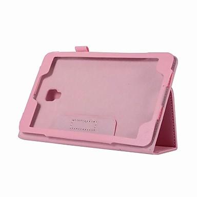 Θήκη Za Samsung Galaxy Tab A 8.0 (2017) sa stalkom / Zaokret Korice Jednobojni Tvrdo PU koža