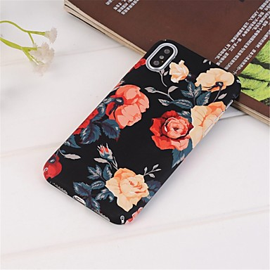 Θήκη Za Apple iPhone XS / iPhone XR / iPhone XS Max Uzorak Stražnja maska Cvijet Tvrdo PC