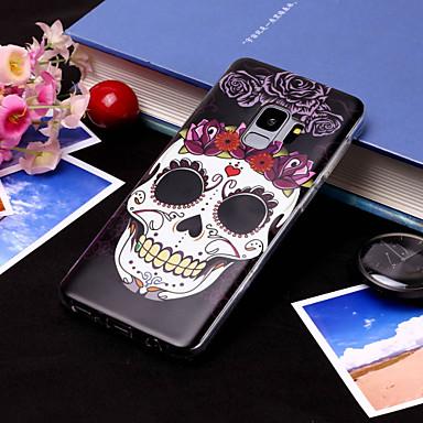 Θήκη Za Samsung Galaxy S9 / S9 Plus / S8 Plus IMD / Uzorak Stražnja maska Lubanje Mekano TPU