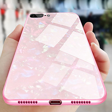 voordelige iPhone 6 hoesjes-hoesje Voor Apple iPhone XS / iPhone XR / iPhone XS Max Beplating Achterkant Glitterglans Hard Gehard glas