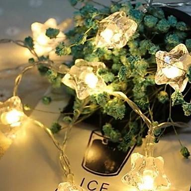 6m Žice sa svjetlima 40 LED diode Toplo bijelo Ukrasno 220-240 V 1set