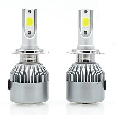 זול תאורה קדמית לרכב-SENCART 2pcs 880/897 / H7 / H3 אופנוע / מכונית נורות תאורה 36 W לד משולב / COB 3800 lm 2 LED / הלוגן אורות ערפל / אורות יום / פנס ראש עבור
