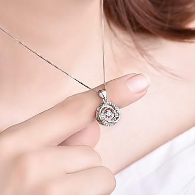 Žene Kubični Zirconia Privjesci 3D dame Stilski Klasik Broš Jewelry Pink Za Angažman Dnevno
