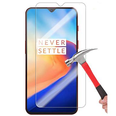 olcso Képernyő védők-OnePlusScreen ProtectorOne Plus 6T 9H erősség Kijelzővédő fólia 1 db Edzett üveg