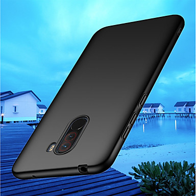 cheap Xiaomi Case-Case For Xiaomi Xiaomi Pocophone F1 / Xiaomi Mi 8 / Xiaomi Mi 8 SE Ultra-thin Back Cover Solid Colored Hard PC