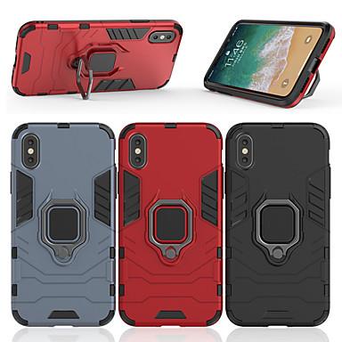 Θήκη Za Apple iPhone X / iPhone 8 Plus / iPhone 8 Prsten držač Stražnja maska Oklop Tvrdo PC
