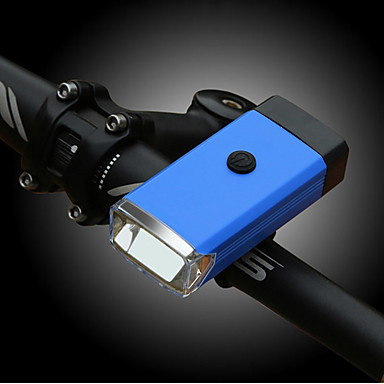 LED Svjetla za bicikle Prednje svjetlo za bicikl Brdski biciklizam Bicikl Biciklizam Vodootporno Prijenosno Alarm Upozorenje 400 lm 3 AAA baterije Bijela Biciklizam Ribolov / ABS