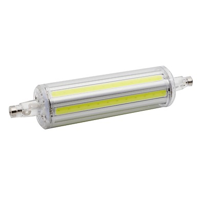 1pc 9 W LED klipaste žarulje 650 lm R7S T 6 LED zrnca COB Vjenčanje Toplo bijelo Bijela 85-265 V
