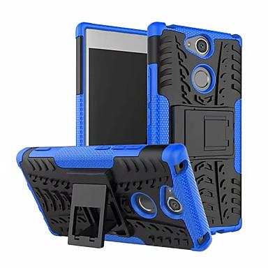 Недорогие Чехлы и кейсы для Sony-Кейс для Назначение Sony Xperia XA2 со стендом Кейс на заднюю панель броня Мягкий ПК