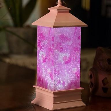 1pc LED noćno svjetlo Ružičasto USB Lijep / Kreativan 5 V