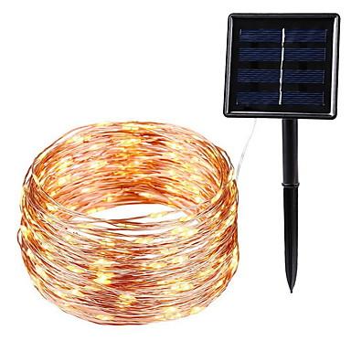 10m Žice sa svjetlima 100 LED diode Toplo bijelo Ukrasno Napelemes 1set