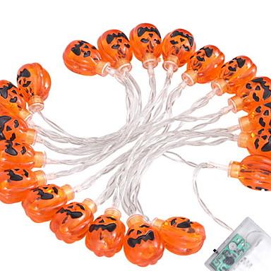 2.5m Žice sa svjetlima 20 LED diode Toplo bijelo Ukrasno AA baterije su pogonjene 1set