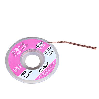 lemni vijčani odstranjivač odvojiti pletenicu žice usisni kabel izmiješani fluks