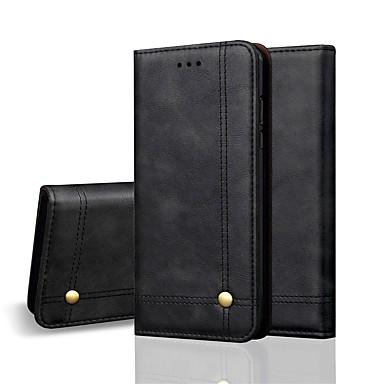 Θήκη Za Apple iPhone XS / iPhone XR / iPhone XS Max Novčanik / Utor za kartice / Zaokret Korice Jednobojni Tvrdo PU koža