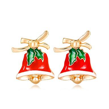 Žene Sitne naušnice 3D dame Klasik Moda Umjetno drago kamenje Naušnice Jewelry Duga Za Božić Nova Godina 1 par