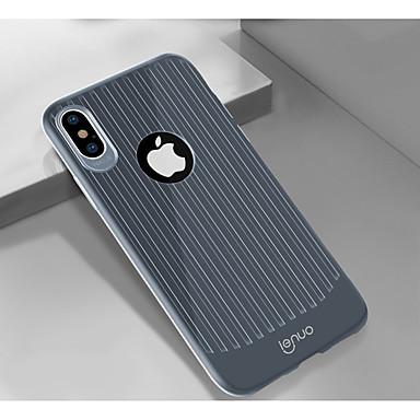 voordelige iPhone-hoesjes-Lenuo hoesje Voor Apple iPhone XR / iPhone XS Max Schokbestendig / Ultradun Achterkant Lijnen / golven Zacht TPU voor iPhone XR / iPhone XS Max