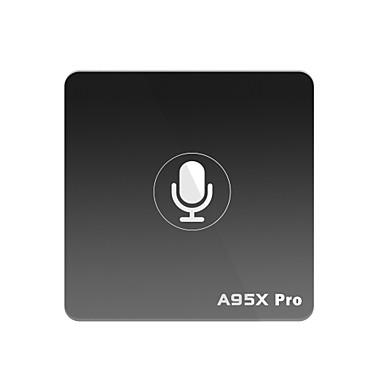 A95X PRO TV Box Android 7.1 TV Box Amlogic S905W 2GB RAM 16GB ROM Quad Core Glasovna kontrola