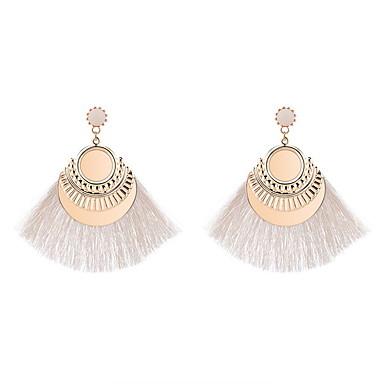 Žene Viseće naušnice Rese dame Europska Etnikai Moda Naušnice Jewelry Zelen / Plava / Pink Za Party Dnevno 1 par