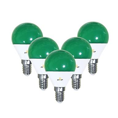 EXUP® 5pcs 5 W LED okrugle žarulje 450 lm E14 G45 12 LED zrnca SMD 2835 Slatko Kreativan Party Zeleno 220-240 V 110-130 V