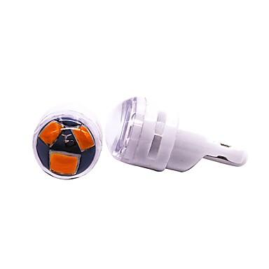 OTOLAMPARA 2pcs T10 Automobil Žarulje 1.5 W SMD 5630 120 lm 3 LED vanjska rasvjeta Za Plićak / Zapovijed Fiesta Sve godine