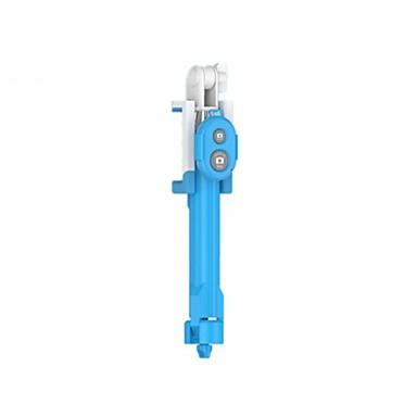 Недорогие Bluetooth палка для селфи-Палка для селфи Bluetooth С возможностью удлинения Максимальная длина 80 cm Назначение универсальный Android / iOS Huawei / Xiaomi / Samsung Galaxy