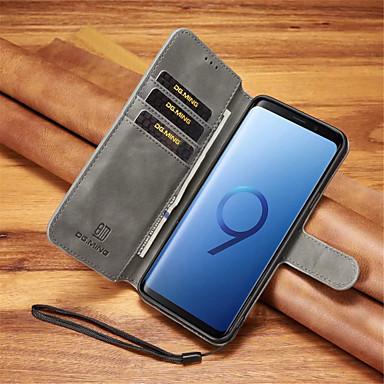 Θήκη Za Samsung Galaxy Note 9 / Note 8 Utor za kartice / Otporno na trešnju Korice Jednobojni Tvrdo PU koža za Note 9 / Note 8