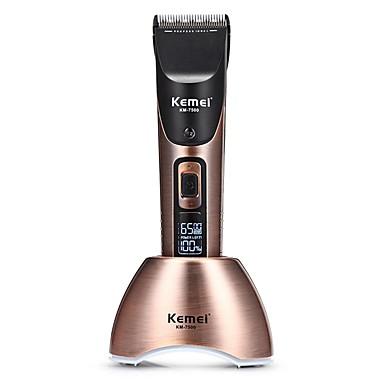 povoljno kosa trimeri-Kemei Trimmer za kosu za Muškarci i žene 110-240 V Low Noise / Ručni dizajn / Svjetlo i praktično