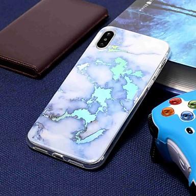 Θήκη Za Apple iPhone XS / iPhone XR / iPhone XS Max Pozlata / Uzorak Stražnja maska Mramor Mekano TPU