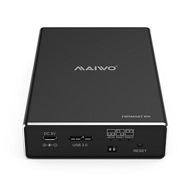 MAIWO USB 3.0 do SATA 3.0 Kućište vanjskog tvrdog diska Plug and play / s LED indikatorom 6000 GB K25272C