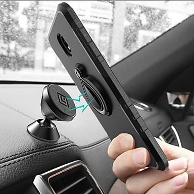 رخيصةأون حافظات / جرابات هواتف جالكسي J-غطاء من أجل Samsung Galaxy J7 Prime / J7 (2017) / J5 Prime ضد الصدمات / مع حامل / حامل الخاتم غطاء خلفي قرميدة / درع قاسي الكمبيوتر الشخصي