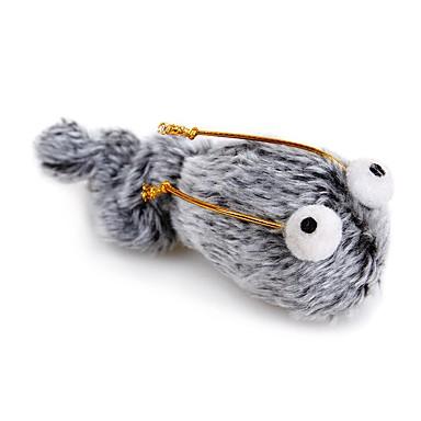 Interaktivan Plišane igrače Squeaking Toys Psi Mačke Ljubimci Igračke za kućne ljubimce 1pc Pet Friendly Igračke od pepela / tkanine Cartoon Toy Tekstil Poklon